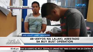 48-anyos na lalaki arestado sa buy-bust operation ng Mariveles-PNP