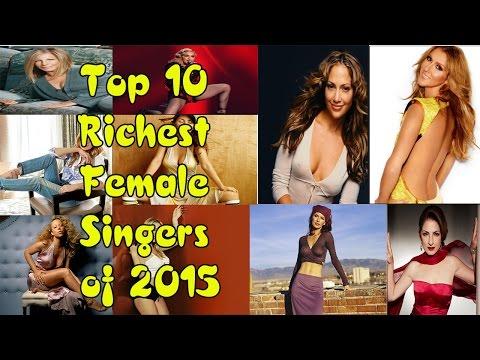 Top 10 Richest Female Singer Of 2015 | List back