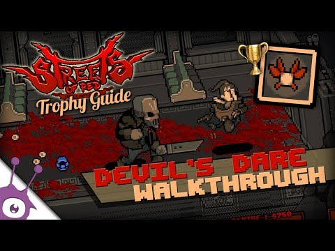 STREETS OF RED · Devil's Dare Trophy / Longplay (PS4/Switch) 🏆