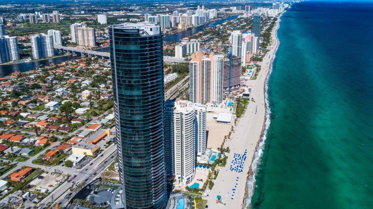 Porsche Design Tower >> Porsche Design Tower Residence 3605 Miami Fl Youtube