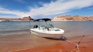 Captain for a day on Lake Powell - Powerboat Rental Wahweap Marina