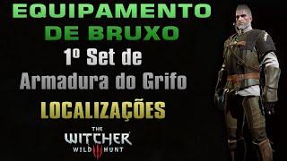 Equipamento de Bruxo: Armadura do Grifo Localizações - The Witcher 3