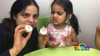 Download lagu EGGED ON Egg Roulette Challenge for Kids Family Fun Game Surprise Liquids in Eggs with BabyMommy MP3