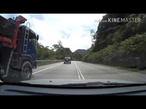 Video Lapse Simpang Pulai to Kea Farm Cameron Highland