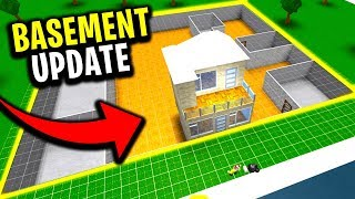 ROBLOX BLOXBURG NEW BASEMENT UPDATE!!!