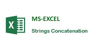 Excel Tips and Tricks - Strings Concatenation In Excel - Excel Formula