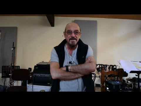 Ian Anderson Band greeting Homo Erraticus rehearsals Jethro Tull Group