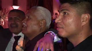 Legendary Singer Lorenzo De Monteclaro Sings At Robert Garcia Wedding - esnews boxing