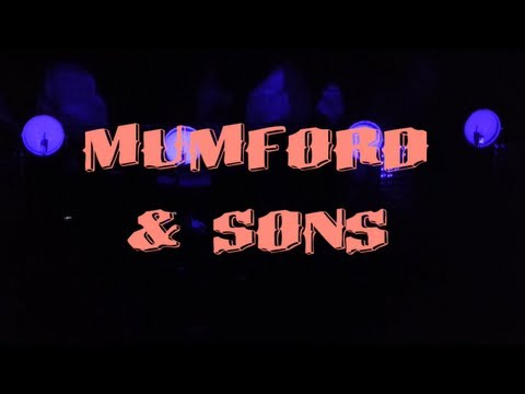 Mumford & Sons' 1st Night @ Red Rocks Amphitheater, 8/28/12, (Not from the official DVD)