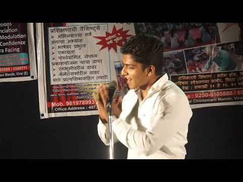 Act performance By Johaar Film & Theatre Academy student of Kiran Chile