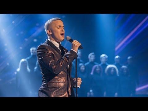 Jahmene Douglas sings Robbie William's Angels - Live Week 6 - The X Factor UK 2012