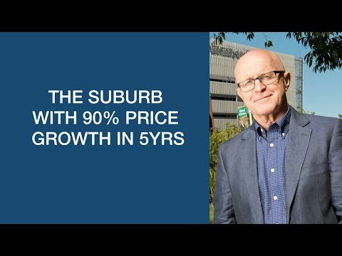 The suburb with 90 price growth in 5yrs