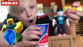 OPENING ROBLOX BLIND BOXES FROM JAZWARES TOYS AT DAIRY QUEEN