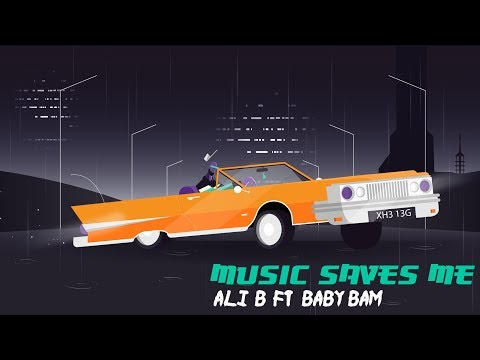 Ali B feat. Baby Bam - Music Saves Me (Official Video)