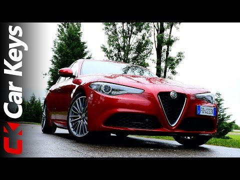 Alfa Romeo Giulia 4K first drive review 2016 – Car Keys