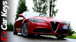 Alfa Romeo Giulia 4K first drive review 2016 – Car Keys