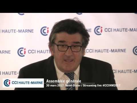 Assemblé Générale de la CCI Haute Marne (mars 2017)