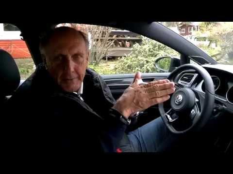 2015 VW Golf R Interview Hans Stuck