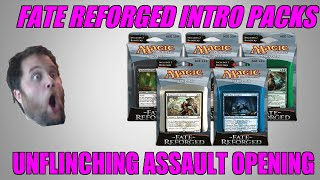 Mtg Fate Reforged Intro Pack Unflinching Assault Opening