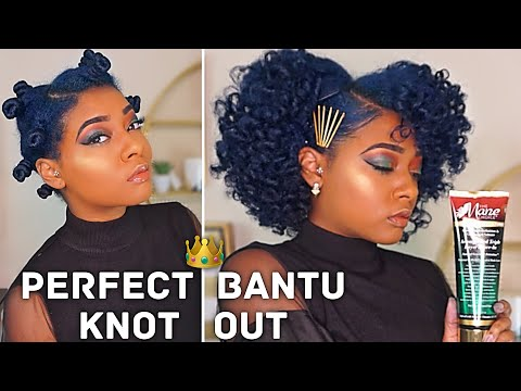 "Achieve Defined & Moisturized Bantu Knots | The Mane Choice Do It ""FRO"" The Culture 