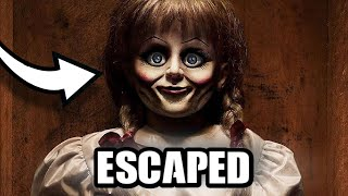 Annabelle Escaped The Warren Museum *footage*