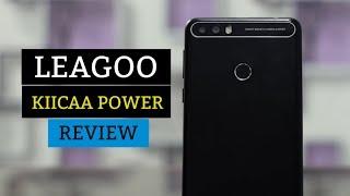 lEAGOO KIICAA POWER Review - FingerPrint - Android 7.0  Best Budget Phone