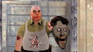 La abuelita vs el Señor de la Carne contra el Mal Monja divertida animación 42
