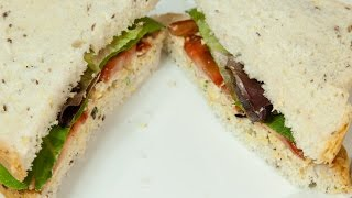 Mighty Meaty Tempeh Salad Sandwich (vegan & Low Salt!)