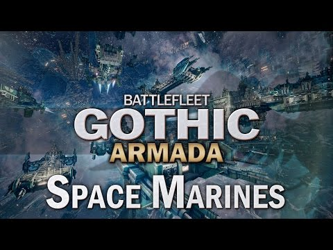 Space Marines for Battlefleet Gothic Armada - Let's Play