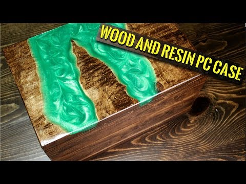 I Made a PC Case Using Resin and Wood! (No River Tables Were Harmed During Filming)