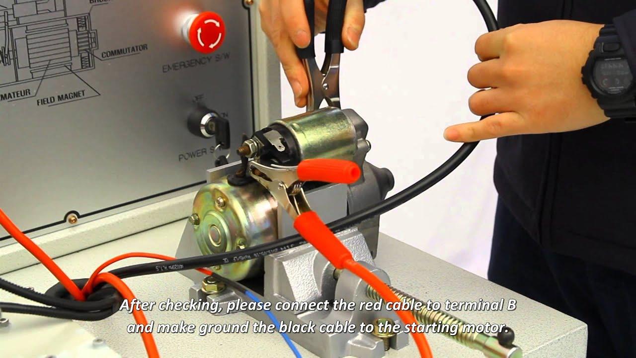 Alternator & Start Motor Bench Tester