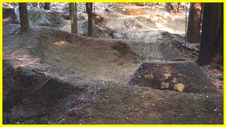 The Pump Track Restoration Part 5: Building And Shaping Jumps On The Course - Phil Kmetz