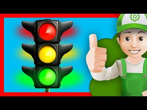 Как выглядит пешеходный светофор