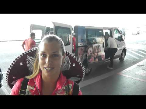 Dominika Cibulkova, sombrero and a special message just for her fans after arrival to home