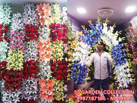Artificial Flower Border Flower Bouquet Flowers Decorative In Mumbai Ss Garden Collection