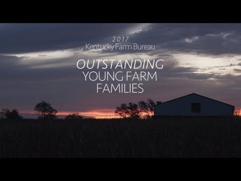 Kentucky Farm Bureau Outstanding Young Farm Family