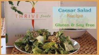 Healthy Vegan Caesar Salad Recipe: Free Of Gluten & Soy