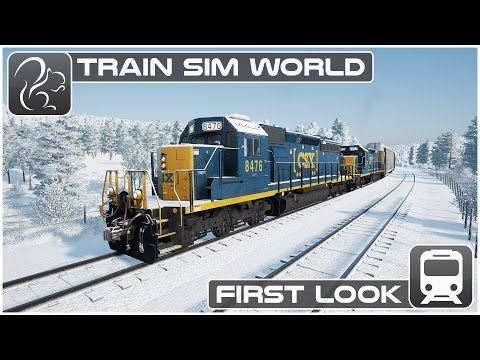 Train Sim World - First look (Beta Footage) [CSX Heavy Haul]