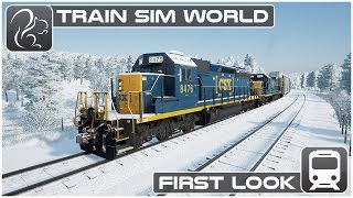 Train Sim World - First look (Beta Footage) [CSX Heavy Haul]
