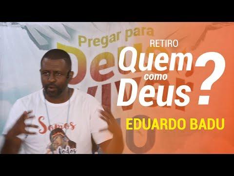 """4ª Pregação // Eduardo Badu // Entrar na """"TENDA DE REUNIÃO"""" (Ex 33, 7-11)."""