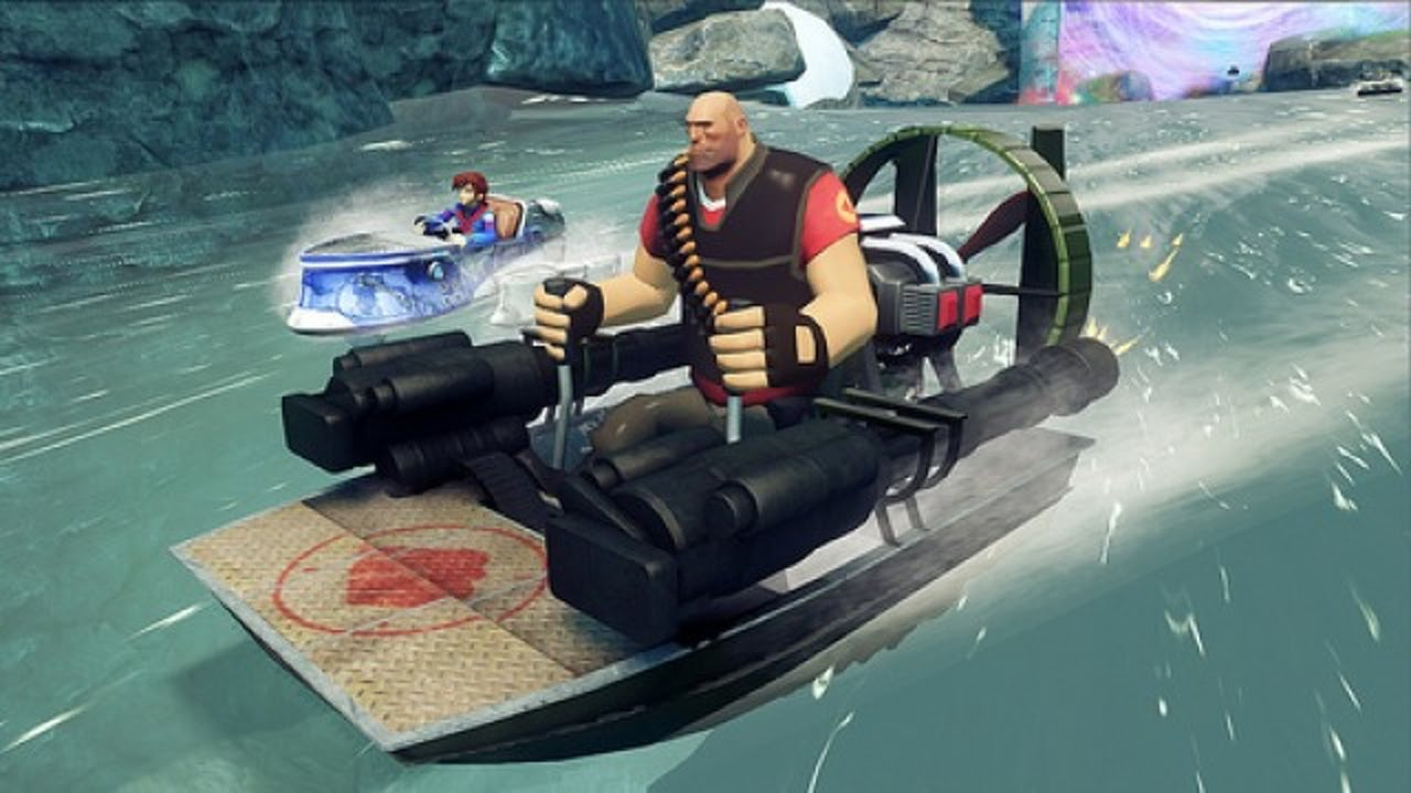 sonic all racing transformed team fortress