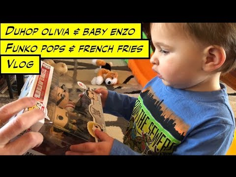 Duhop FUNKO POPS AND FASTFOOD Family Vlog