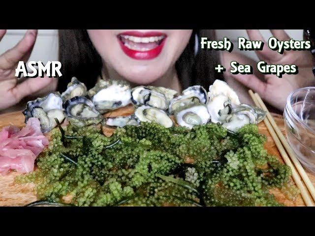 Asmr Raw Oysters Sea Grapes Eating Sounds The Asmr Index Thank you is certainly not enough…we will be at 1m in no time…wow!!! the asmr index