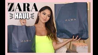 TRY ON SPRING ZARA HAUL | Diana Saldana