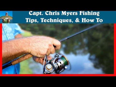 How To Hold An Open Face Spinning Reel Youtube