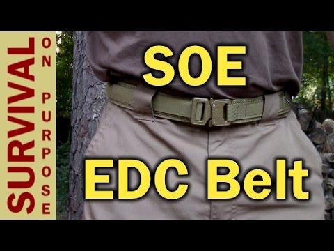 SOE (Special Operations Equipment) EDC Belt Review