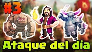 Golems Magos y Pekkas | Ataque GoWiPe #3| Clash of Clans