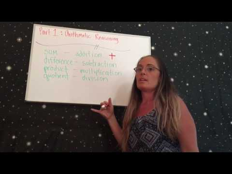 Learn how to define math definitions ASVAB