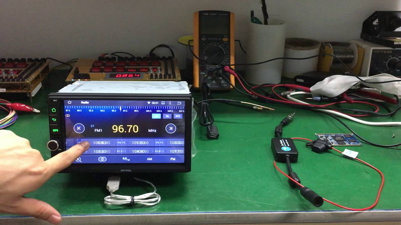 Joying Tested Android Car Stereo Using Radio Signal Amplifier When