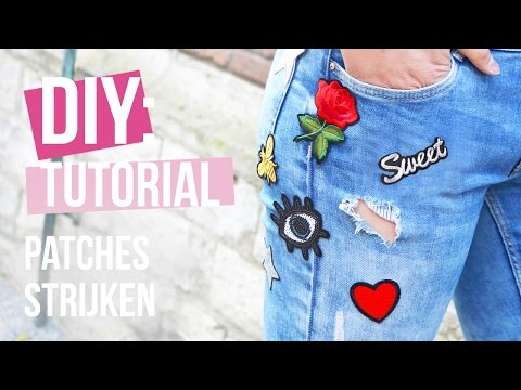 How to: Patches strijken ♡ DIY